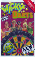 Wacky Darts Commodore 64 Front Cover