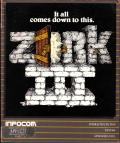 Zork III: The Dungeon Master Apple II Front Cover