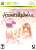 Record of Agarest War (The Really Naughty Limited Edition) Xbox 360 Front Cover