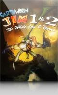 Earthworm Jim 1 & 2: The Whole Can 'O Worms Macintosh Front Cover