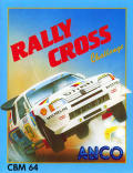Rally Cross Challenge Commodore 64 Front Cover