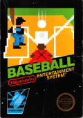 Baseball NES Front Cover