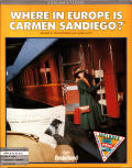 Where in Europe is Carmen Sandiego? Apple II Front Cover Alternate Cover