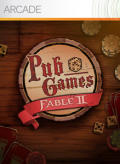 Fable II: Pub Games Xbox 360 Front Cover