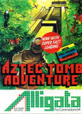 Aztec Tomb Adventure Commodore 64 Front Cover