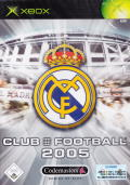 Club Football 2005 Xbox Front Cover