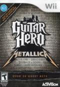 Guitar Hero: Metallica Wii Front Cover