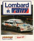 Lombard RAC Rally Atari ST Front Cover