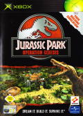 Jurassic Park: Operation Genesis Xbox Front Cover