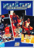 The Dream Team: 3 on 3 Challenge DOS Front Cover