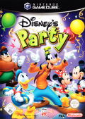 Disney's Party GameCube Front Cover