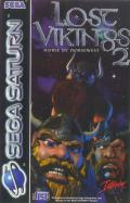 Norse by Norse West: The Return of the Lost Vikings SEGA Saturn Front Cover