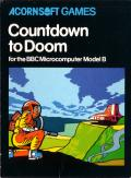 Countdown to Doom BBC Micro Front Cover