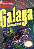 Galaga NES Front Cover