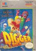 Digger T. Rock: Legend of the Lost City NES Front Cover