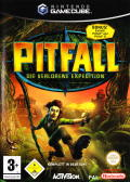 Pitfall: The Lost Expedition GameCube Front Cover