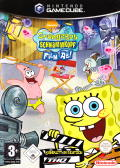 SpongeBob SquarePants: Lights, Camera, Pants! GameCube Front Cover