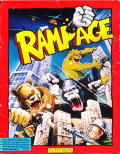 Rampage DOS Front Cover