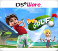 Let's Golf! Nintendo DSi Front Cover