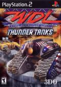 World Destruction League: Thunder Tanks PlayStation 2 Front Cover