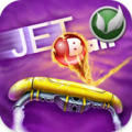 Jet Ball iPhone Front Cover