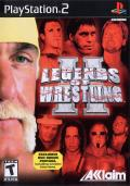 Legends of Wrestling II PlayStation 2 Front Cover