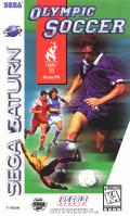 Olympic Soccer SEGA Saturn Front Cover