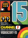 Videocart-15: Memory Match Channel F Front Cover
