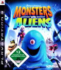 Monsters vs. Aliens PlayStation 3 Front Cover