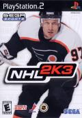 NHL 2K3 PlayStation 2 Front Cover