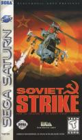 Soviet Strike SEGA Saturn Front Cover