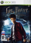 Harry Potter and the Half-Blood Prince Xbox 360 Front Cover