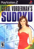 Carol Vorderman's Sudoku PlayStation 2 Front Cover