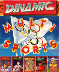 Multi Sports MSX Front Cover
