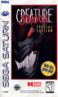 Creature Shock SEGA Saturn Front Cover