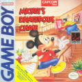 Mickey's Dangerous Chase Game Boy Front Cover