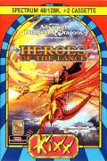 Heroes of the Lance ZX Spectrum Front Cover