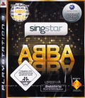SingStar: ABBA PlayStation 3 Front Cover