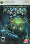 BioShock 2 Xbox 360 Front Cover
