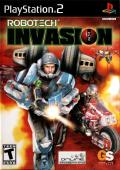 Robotech: Invasion PlayStation 2 Front Cover