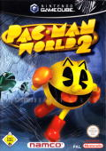 Pac-Man World 2 GameCube Front Cover