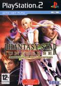 Phantasy Star Universe: Ambition of the Illuminus PlayStation 2 Front Cover
