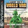 Army Men: World War PlayStation Front Cover