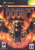 DOOM³: Resurrection of Evil Xbox Front Cover