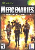 Mercenaries: Playground of Destruction Xbox Front Cover