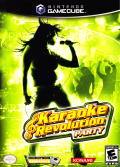 Karaoke Revolution Party GameCube Front Cover