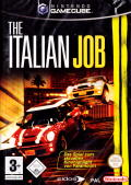 The Italian Job GameCube Front Cover