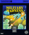 Military Madness TurboGrafx-16 Front Cover