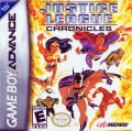 Justice League: Chronicles Game Boy Advance Front Cover