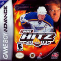 NHL Hitz 20-03 Game Boy Advance Front Cover